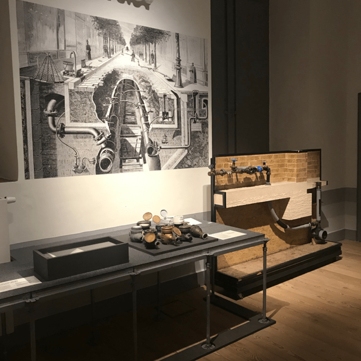 grootformaat muurprint kunst museum