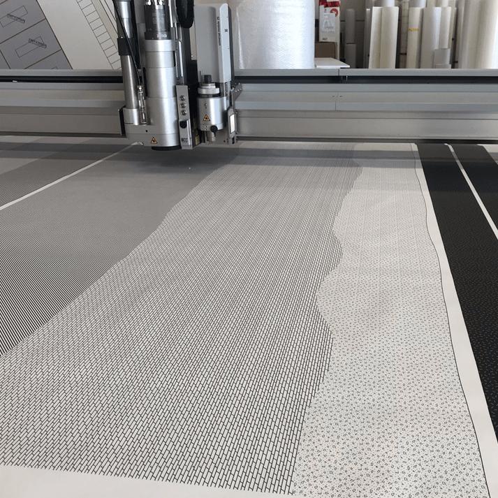digitaal drukwerk muurbehang