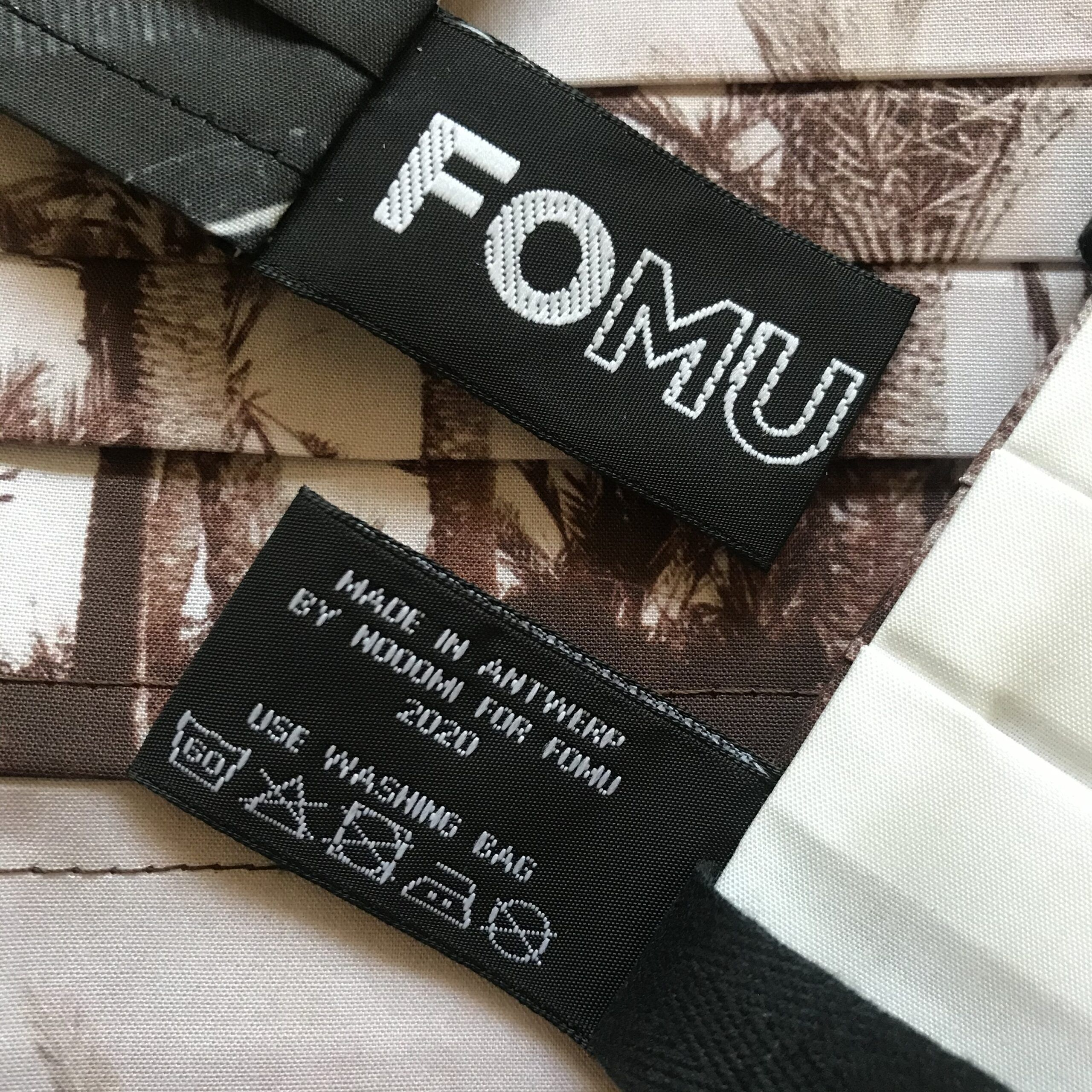 FOMU textiel label